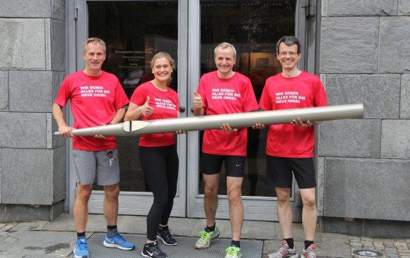 Marathon-Spenden: schon über 4.000 Euro!