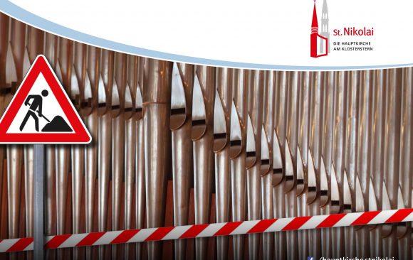 Orgel still-gelegt