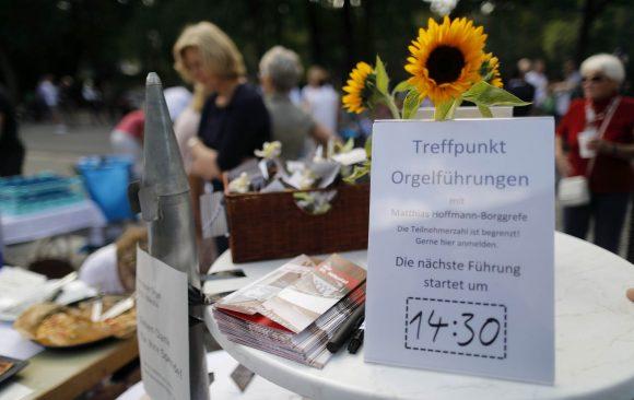 Das Gemeindefest: Ein voller Erfolg auch für die Orgel