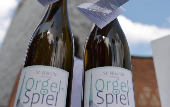 Der Wein für die neue Orgel