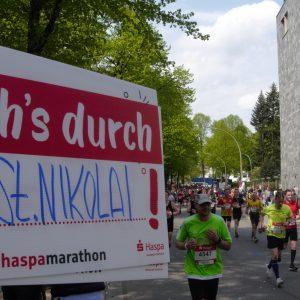 St. Nikolai läuft den Haspa-Marathon 2019