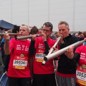 Staffel-Team erläuft 5.000 Euro beim Haspa-Marathon!